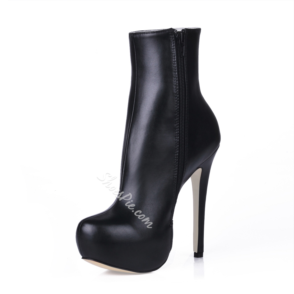 Great Stiletto Heels Closed-Toe Women's Boots