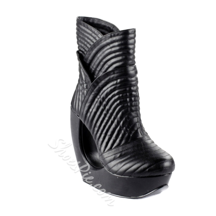 Special Design Hollow Out Heels Boots