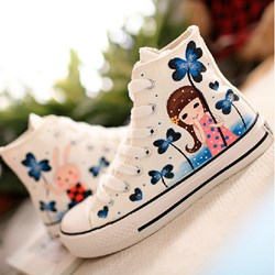New Fashion Hand-painted Canvas Shoes