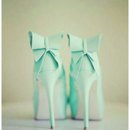 Refreshing Little Green Platform Stiletto Heels