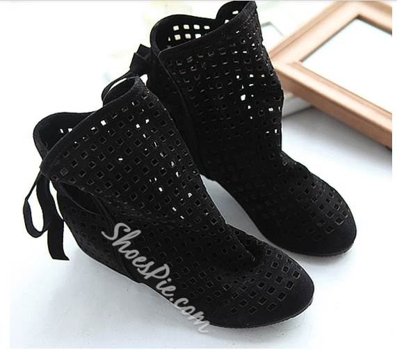 New Arrival Cheap Cut-Outs Flat Boots