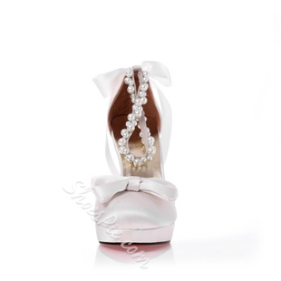 New Comfortable Round Bridal shoes