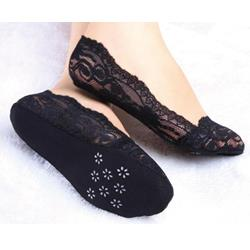 New Arrival Flower Print Women's Ship Sock