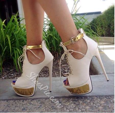New Fashion Contrast Colour Suede Platform Sandals