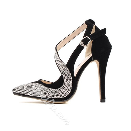 Gorgeous Contrast Colour Pointed Toe Heels