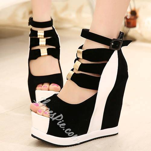 Gorgeous Peep-Toe Wedge Women's Shoes