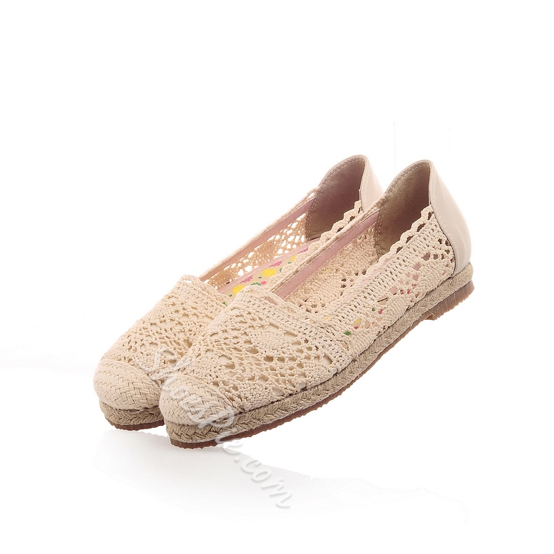 Best Cut-Outs Cloth Comfort Flats