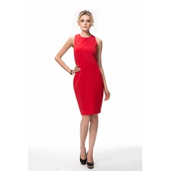 Sexy Red Backless Sleeveless Bodycon Dresses