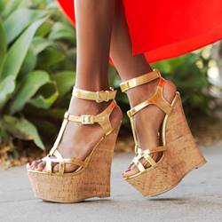 76496501a8a6 New Fashion OL Style Wedge Sandals