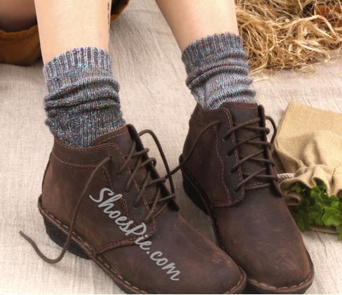 Fashionable Contrast Color Socks