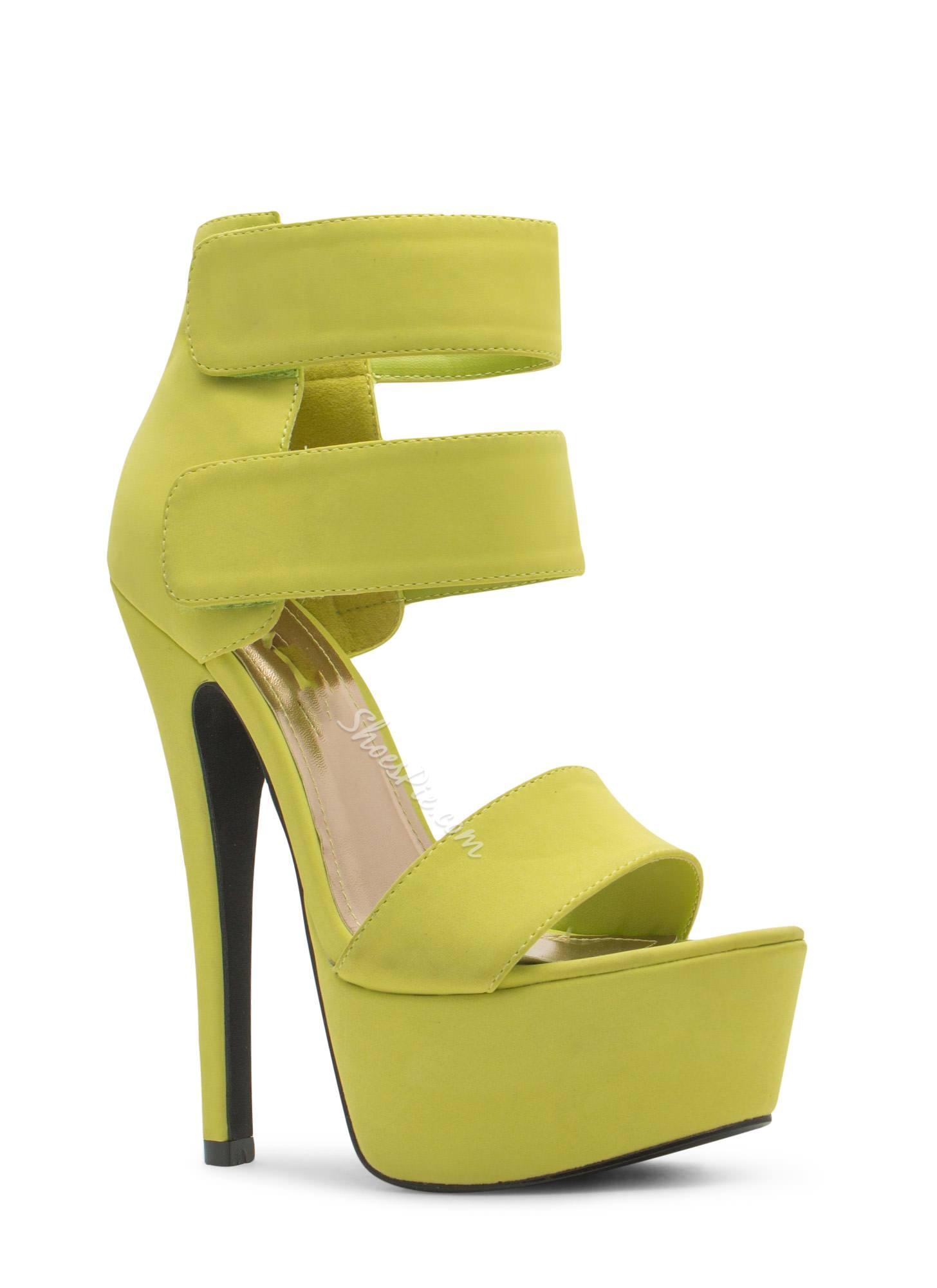 Amazing Solid Color Platform Sandals