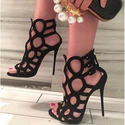 Shoespie Sexy Cut-Outs Stiletto Heels Dress Gladiator Sandals