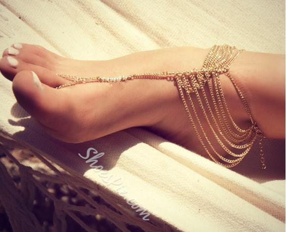 Good-looking Chain Anklet