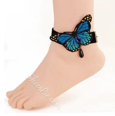 Gorgeous Butterfly Tassel Anklet