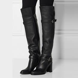 Shoespie Fancy Genuine Leather Knee High Boots