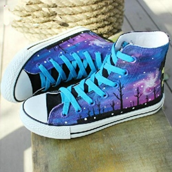 Fabulous High-top Canvas Shoes