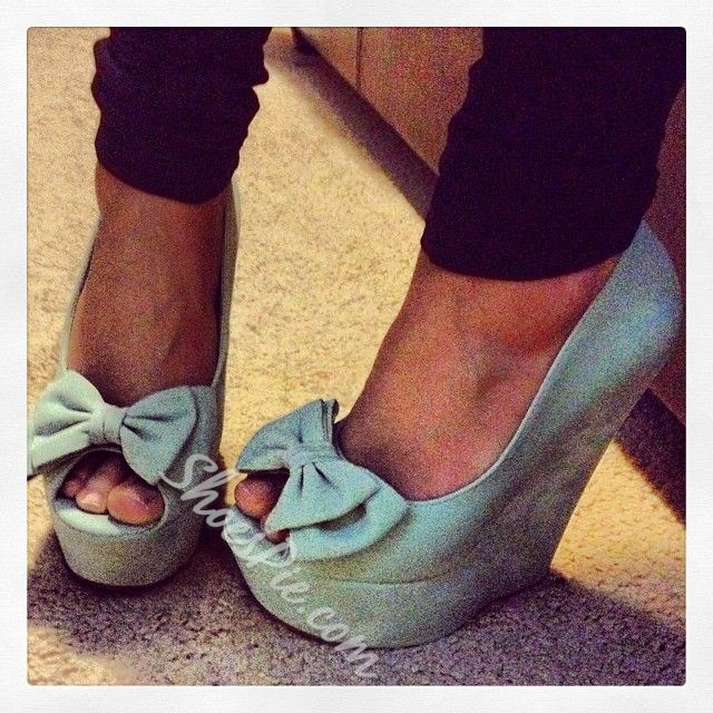 Sweet Bowkont Wedge Heels