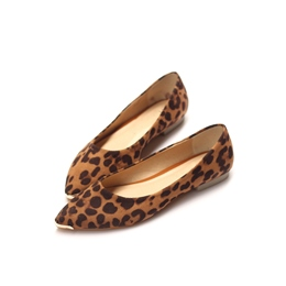 Sexy Metal Decorated Pointed Toe Flats