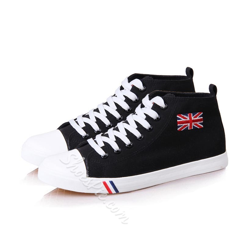 Lace-Up High Top Men's Sneaker