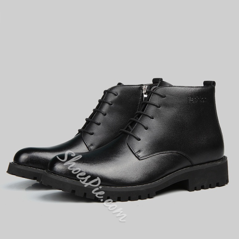 Brush-Off Lace-Up Ankle Men's Oxfords