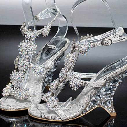 Fashion Crystal&Diamond Bridal Shoes
