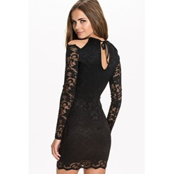 Black Sexy Lace Bodycon Dresses