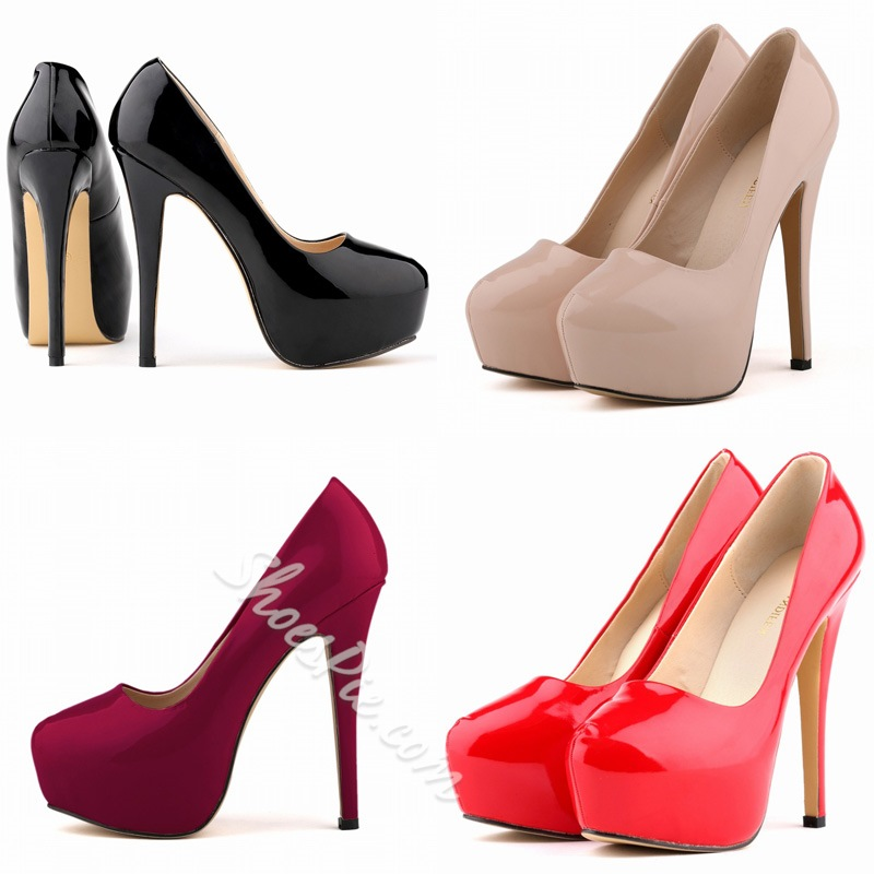 New Spring All-matched Simple Stiletto Heels