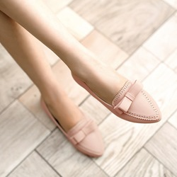 Sweet Lace Point Toe Plus Size Flats