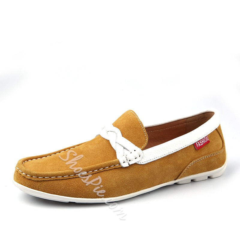 Concise Assorted Color Loafers