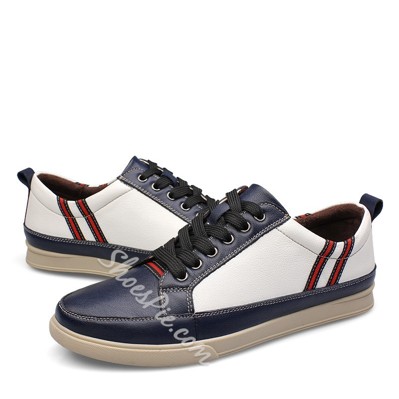 Stylish Contrast Color Sneakers