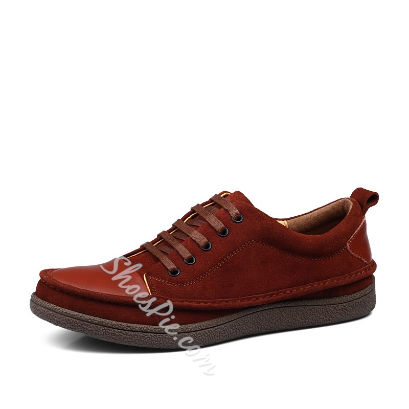 New Arrival Suede Material Sneakers