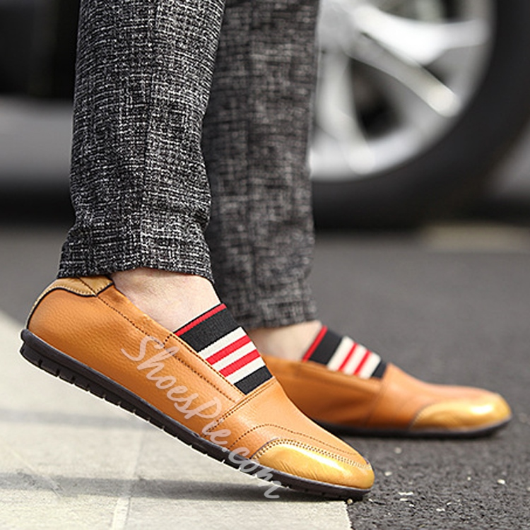 Assorted Color Slip-on Loafers