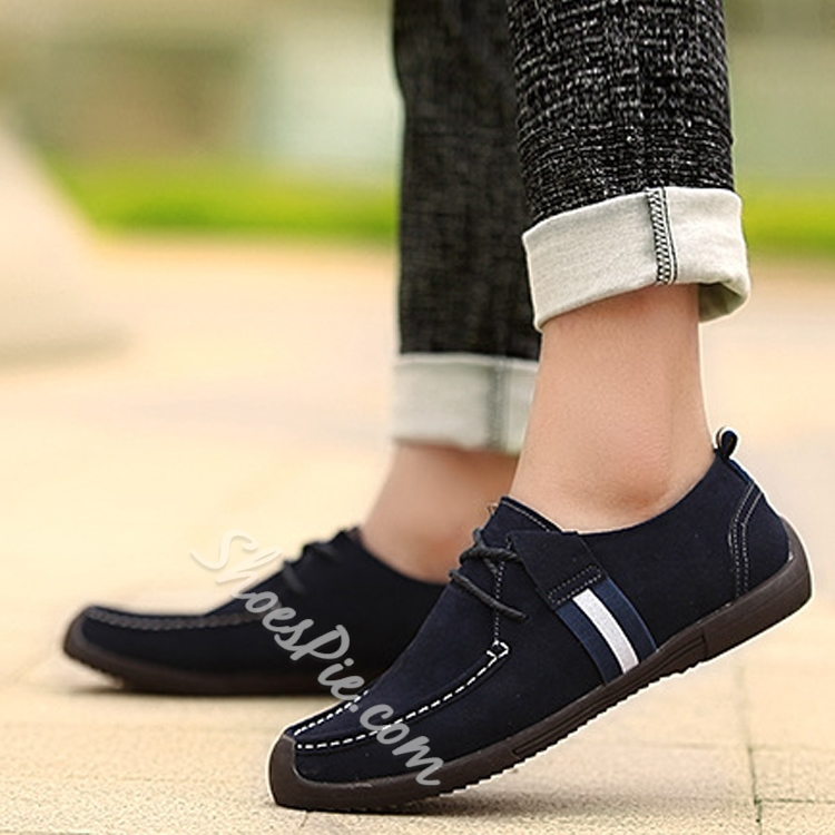 Fashionable Solid Color Men's Sneaker