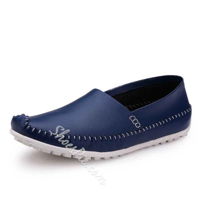 Comfy Solid Color Loafers