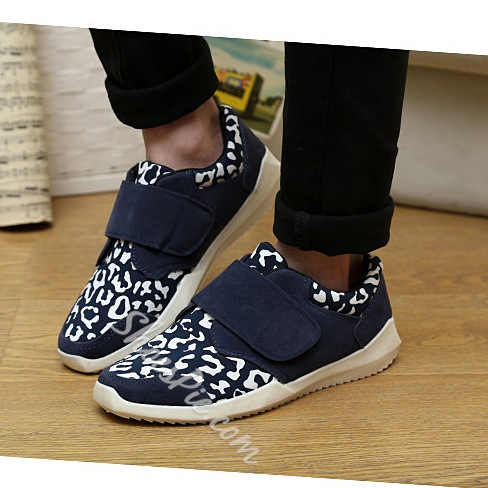 Fashion Denim Flat Sneaker