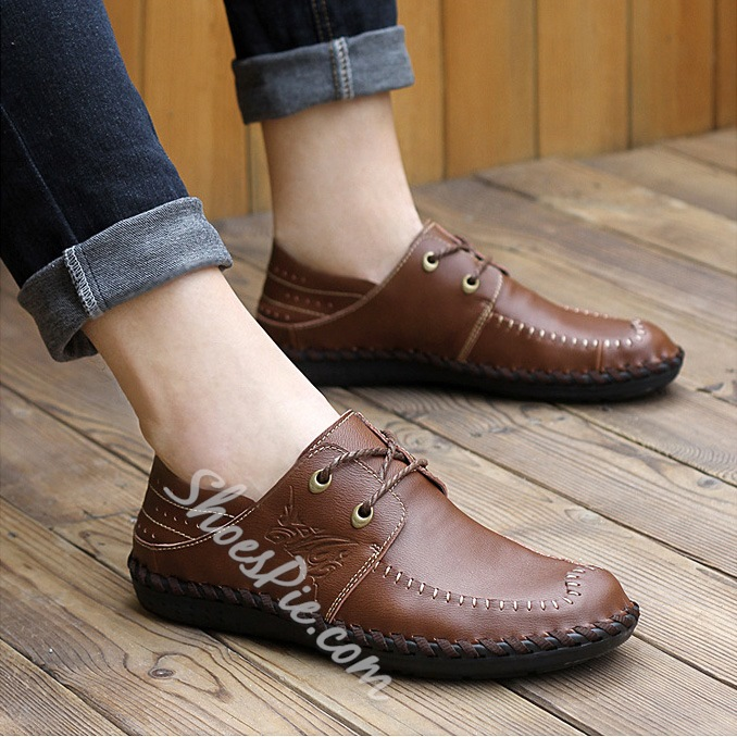 Popular Lace-up Loafer