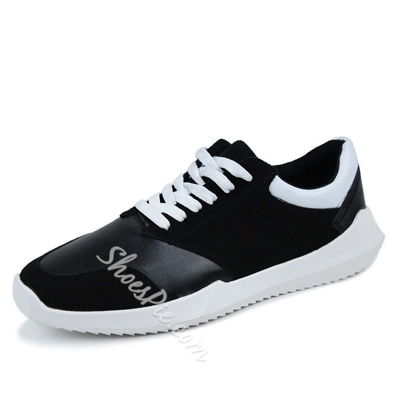 Comfortable Lace-up Athletic Shoes