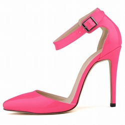 Adorable Candy Color Pointed Toe Stiletto Sandals