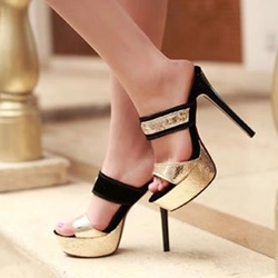 Shoespie Sexy Cheap Stiletto Heel Platform Sandal Slipper