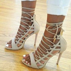 Shoespie Kylie Jenner Style Dress Sandals