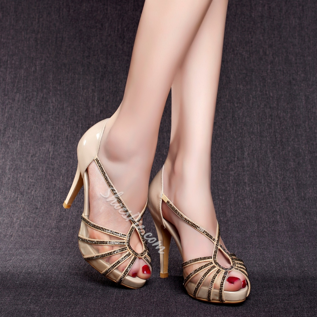 Shoespie Elegant Platform Dress Sandal