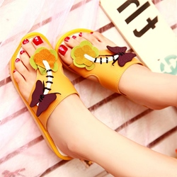 Shoespie Color Flat Slippers