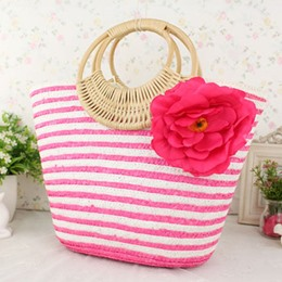 Shoespie Big Flower Bohemia Style Handbag