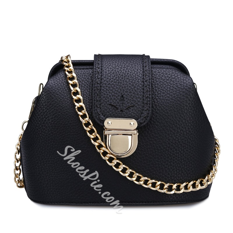 Shoespie One Shoulder Chain Handbag