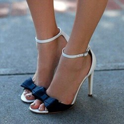Shoespie Assorted Color Bowtie Dress Sandals