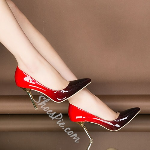 Shoespie Gradually Changing Colors Stiletto Heels