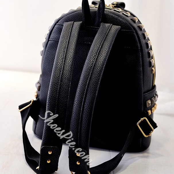 Shoespie Cartoon Print Backpack