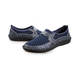Shoespie Summer Breathable Mesh Patchwork Men's Loafers