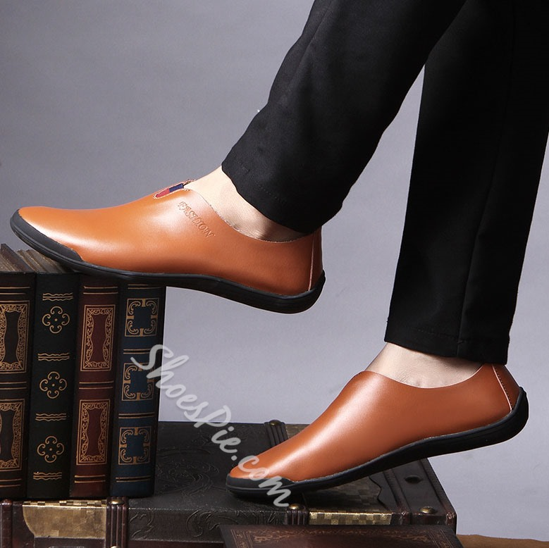 Shoespie Comfortable Leather Men's Loafers