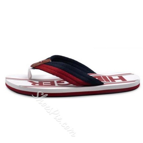 Shoespie Demin Contrast Color Men's Slipper